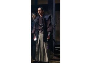EXILE AKIRAさん(越後長岡藩家老・山本帯刀役)