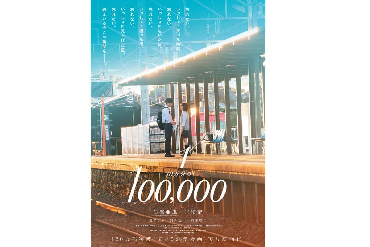 映画『10万分の1』キービジュアル